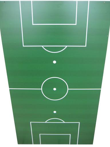 1 Spielfeld FF für Tischkicker