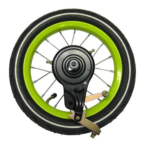 HUDORA_1 Hinterrad Stahlfelge 12%22 mit Bandbremse, gelb-grün_WS36328.jpg