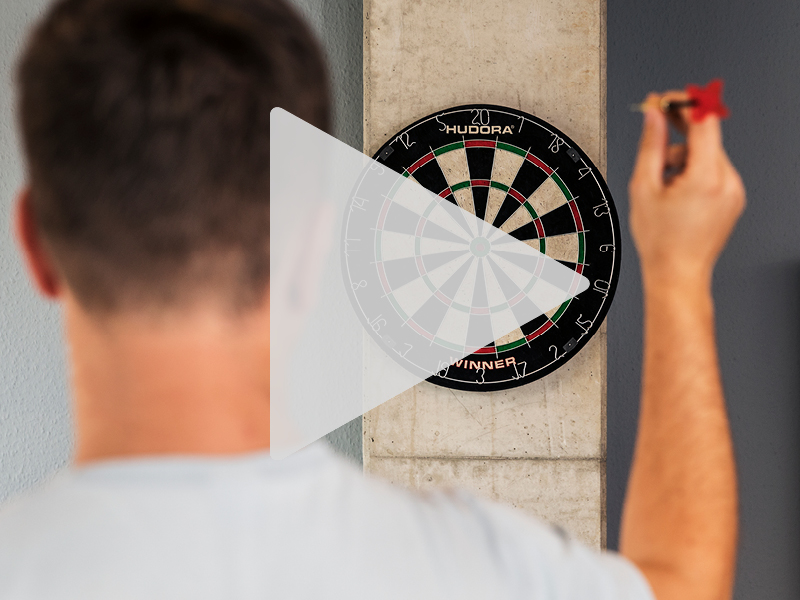 HUDORA Bristle Dartboard Winner - UVP: 49,95 €