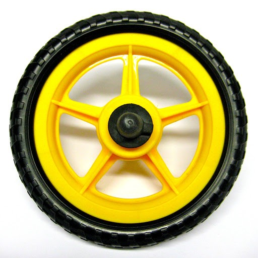 "1 Ersatzrad, 10"", gelb"