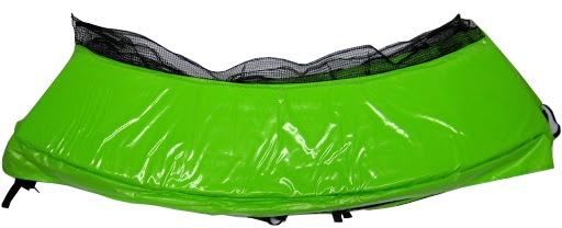 1 Rahmenpolsterung ø 250 cm,Trampolin Familiy, grün