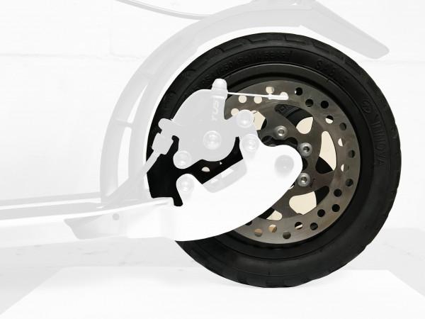 1 Ersatzrad mit Luftbereifung inkl. Bremsscheibe mit 6 Loch Befestigung