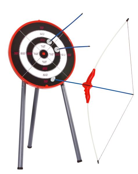 Bogenset mit Zielscheibe
