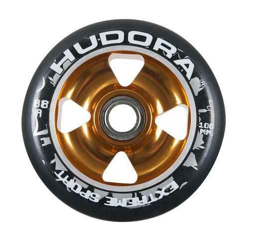 1 Rolle Alu Core inkl. Chrom-Kugellager ABEC-7 gold
