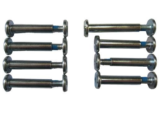 1 Achsschraubenset - 8 Stück, 28/37 mm