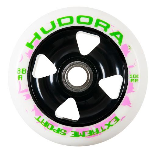 HUDORA_1 Wheel Alu Core inkl. Chrom-Kugellager ABEC-7, schwarz:weiß_WS36550.jpg