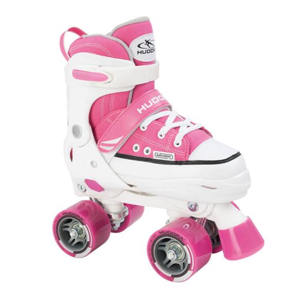 HUDORA Rollschuh Roller Skate, Gr. 28-39, pink