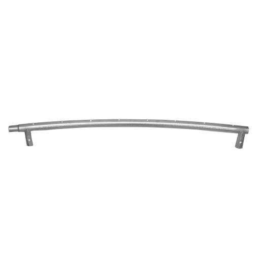 1 Rahmenrohr ø 42 mm mit Beinstutzen für Trampoline