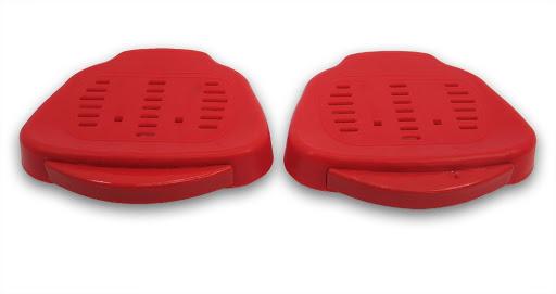 2 Sitzschalen, rot, für Schaukelgestelle HD 800