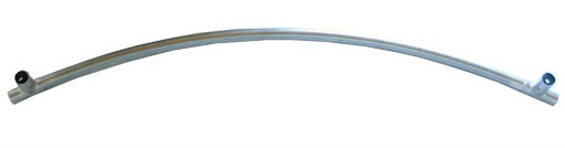 1 Rahmenrohr Ø 38 mm mit Beinstutzen für Trampoline