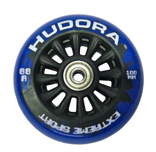 1 Wheel Nylon Core blau, inkl. Abec 7 Kugellager