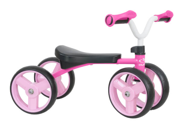 "HUDORA Laufrad 4Wheely 7,5"", pink"