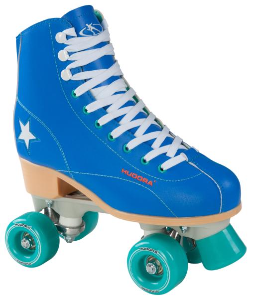 HUDORA-13191-98-Rollschuh-Roller-Disco-Gr-35-43-blau-gru-n