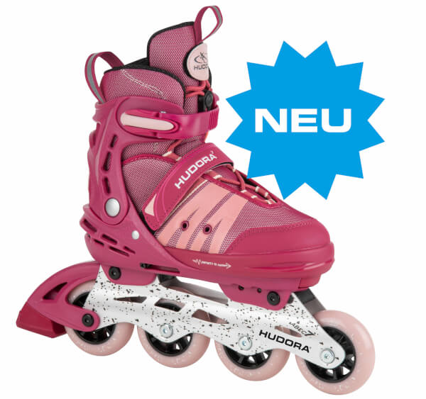 Inline Skates Comfort, strong berry, Gr. 29-40