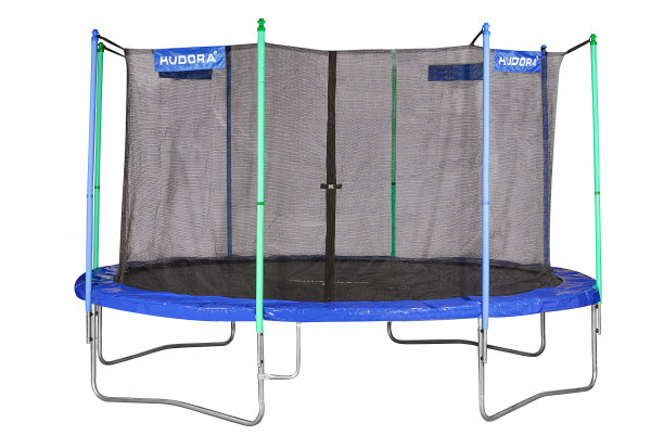 Fun Trampolin 400V, blau