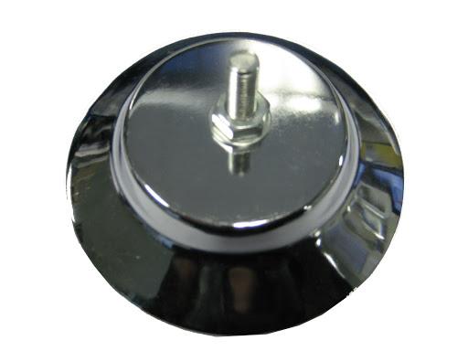 1 Standfuß chrome Tischkicker