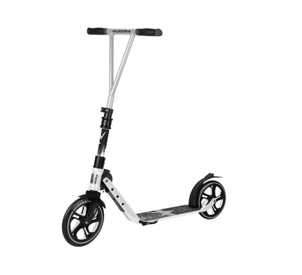 HUDORA BigWheel® Generation V 230, Scooter weiß
