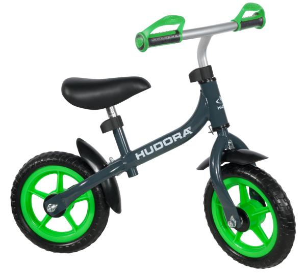 """Laufrad Bikey 3.0 Boy, 10"""", grau/grün"""