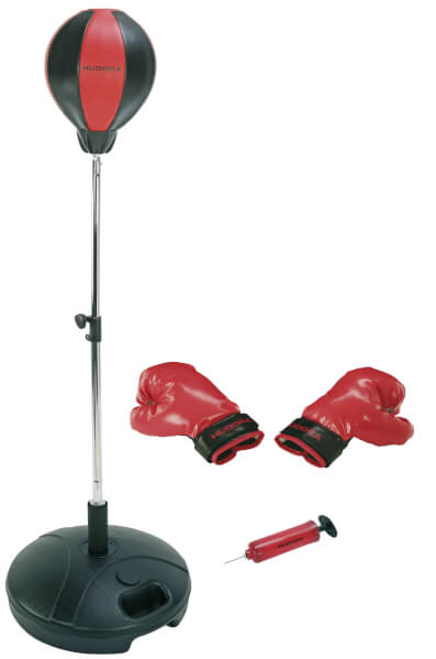 HUDORA Punchingball mit Boxhandschuhen und Pumpe