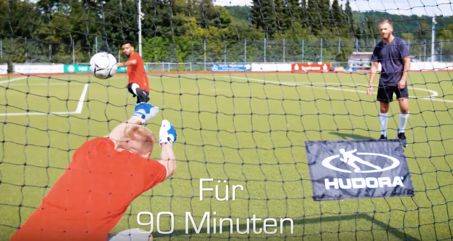 HUDORA Fußballtor Pop Up, 2er Set