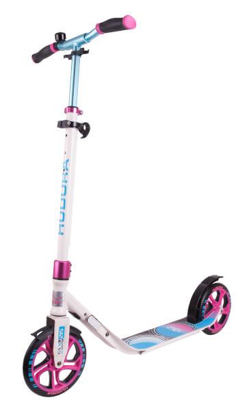 HUDORA Scooter CLVR 215, blau/pink - UVP: 148,95 €