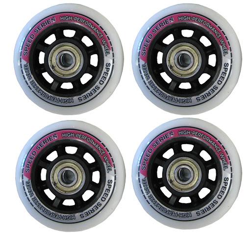 HUDORA_4 Ersatzrollen 64 x 22 mm, weiß mit Druck, inkl. ABEC-5 Kugellager, für Kinderinliner Mia, Gr. 29-32_WS33213.jpg