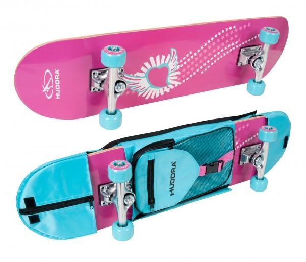 Skateboard Skate Wonders ABEC 3 mit Rucksack