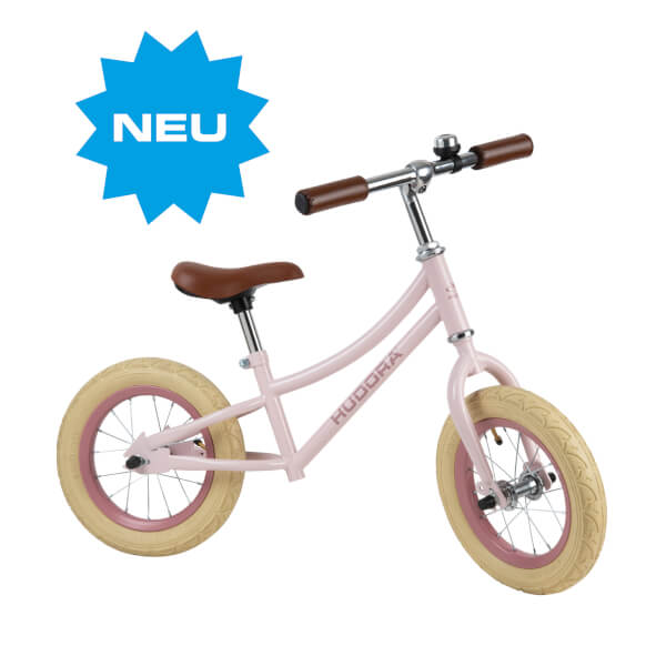 HUDORA Laufrad Retro Girl, rosa