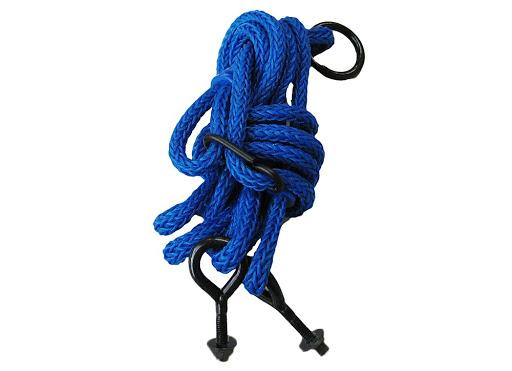 1 Seil für Nestschaukel 90 blau