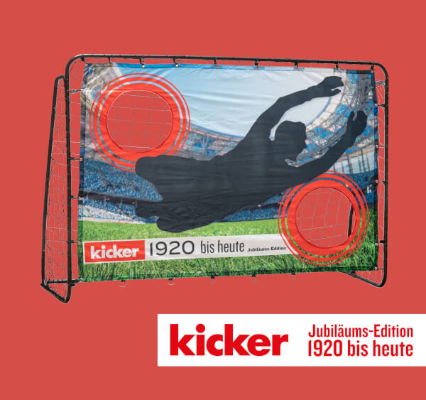 "HUDORA Fußballtor Trainer ""kicker Edition"", Stadium"