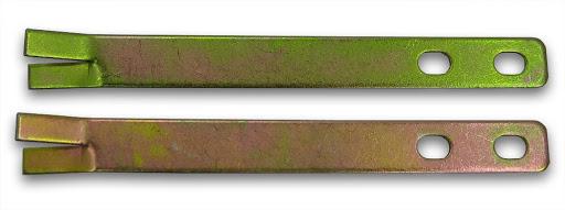 2 Erdanker, verzinkt, für Schaukelgestelle
