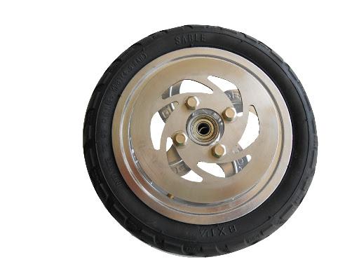 HUDORA Ersatzteil Scooter, 1 Ersatzrad 205 mm luftbereift mit Bremsscheibe zu BigWheel®