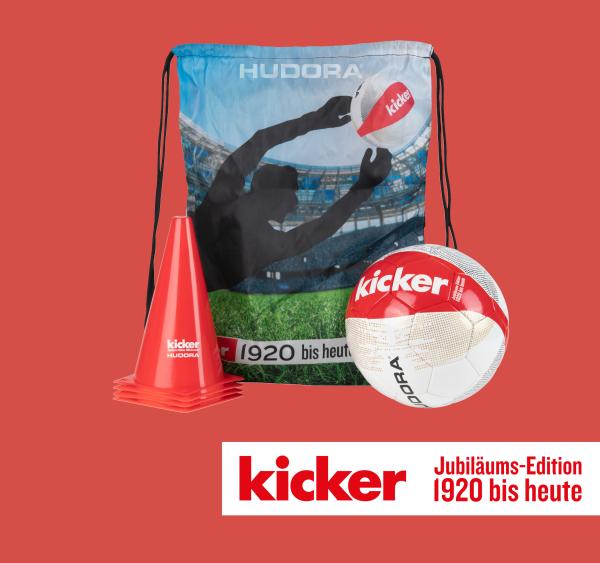 """HUDORA Fußball-Set """"kicker Edition"""" Stadium"""
