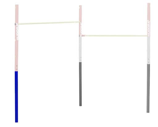 HUDORA Ersatzteil untere Haltestange für das Turnreck Fabian (1 Stk.)