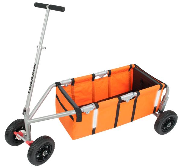 HUDORA Bollerwagen Überländer Kompakt, orange