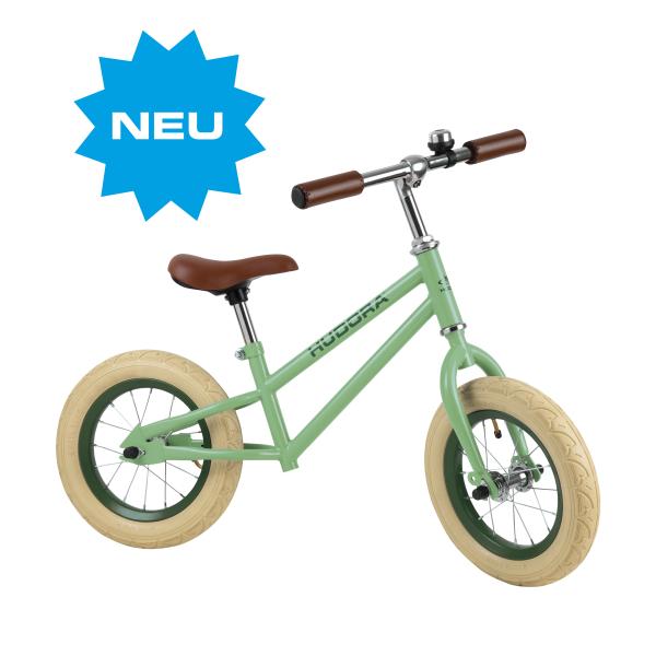 HUDORA Laufrad Retro Boy, grün