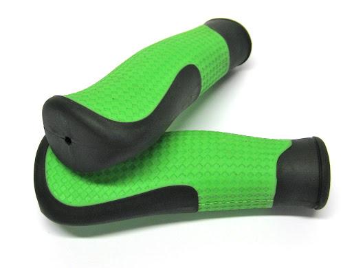 2 Griffe, grün/schwarz