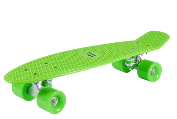 Skateboard Retro Lemon Green