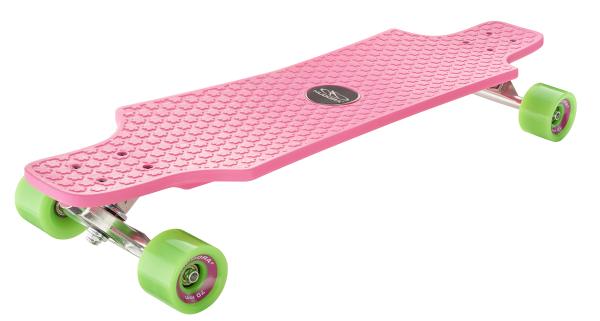 Longboard Fun Cruiser, pink