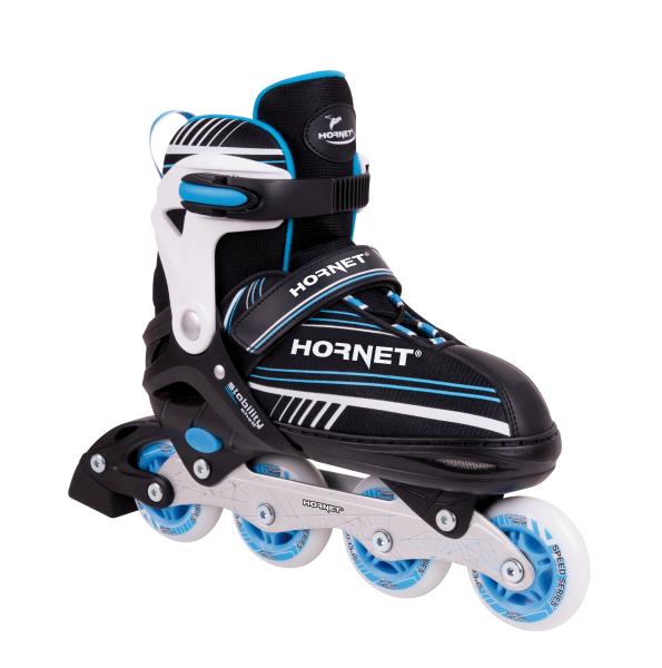 Hornet Inline Skates Alu, Gr. 34-37, blau