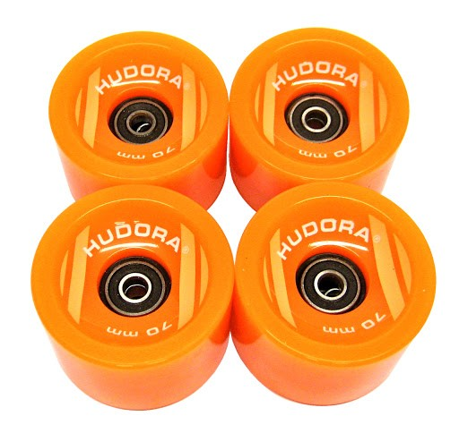 HUDORA_4 Ersatzrollen 78A High Rebound 70 x 51 mm, mit Kugellager Abec 7 Cruising Lager, orange_WS39976.jpg