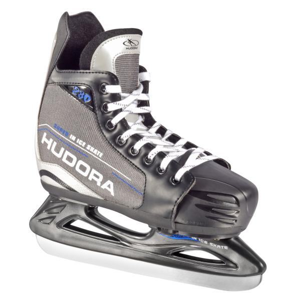 HUDORA Hockeyschlittschuh, Gr. 28-39, grau - UVP: 64,95 €