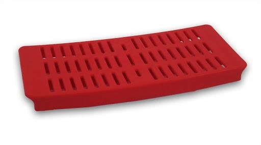 1 Kunststoffschale, rot, für Schaukelgestelle HD 700