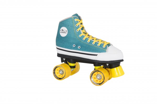 Roller Skates Green Denim, Gr. 36-42
