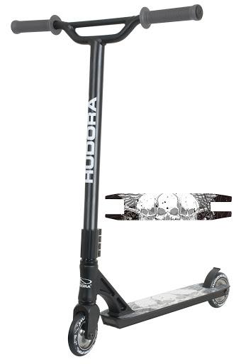 Stunt Scooter XY-12 für Fortgeschrittene, schwarz
