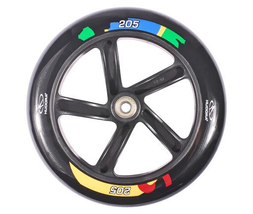 HUDORA_1 Ersatzrolle 205 mm inkl. Lager, Schwarz, für HUDORA Big Wheel 205 Brazil_WS33311.jpg