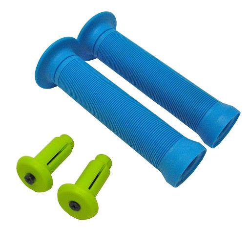 HUDORA_2 Grips mit Nylon end cap, hellblau:grün_WS36578.jpg
