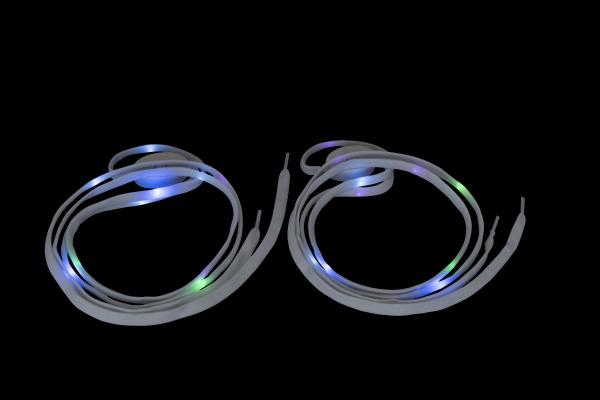 LED Leucht-Schnürsenkel für Schuhe, Inlineskates und Rollschuhe