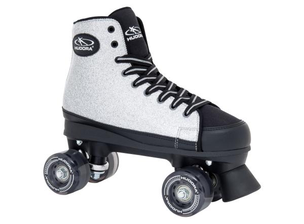 HUDORA Roller Skates Silver Glamour, Gr. 36-42 - UVP: 69,95 €