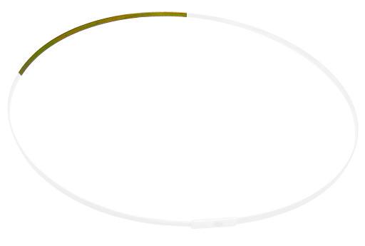Ein Metallband für Fangnetz